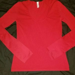 Victoria Secret Red Stretchy Thermal